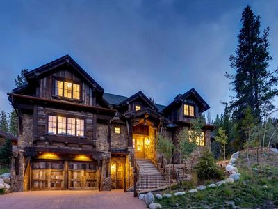 Photo for Luxury 7 Bedroom 8 bath ski in/out  in exclusive Lewis Ranch