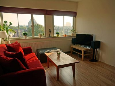 Photo for Lovely apartment with roof terrace