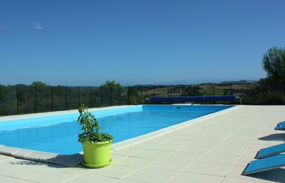 Photo for Pech Luna, 5 P house with pool, Pyrenees view, golf on site, 3 Clevacances