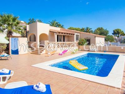 Photo for Pretty holiday villa for rent in Calpe with pool, air conditioning and wifi