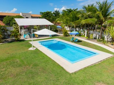 Photo for Sheep of the beach. Swimming Pool. Total Privacy. 1. 600 m2 plot. 6/4.