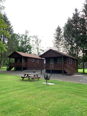 Photo for Come stay in a quiet country setting steps from the Delaware River...