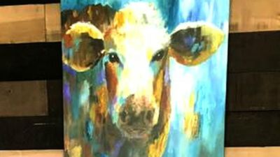 Old Woodland Acres Signature Cow