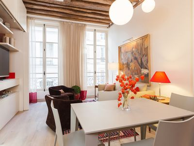 Photo for UNBEATABLE LOCATION IN ST GERMAIN DES PRES - BEAUTIFUL 2BR STEPS FROM LA SEINE!