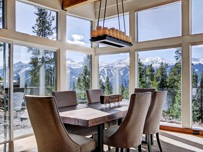 Photo for Unparalleled Views in a Modern Mountain Home with Private Hot Tub and Firepit