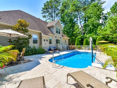 Photo for Fabulous 4 BR home with private outdoor pool & outdoor kitchen! *5 Star Deluxe *