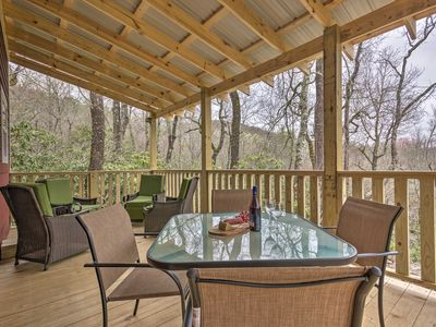 Photo for Charming Linville Mountain Studio w/ Deck & Views!