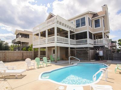Photo for A Place In The Sun: 5 BR / 4 BA house in Corolla, Sleeps 12