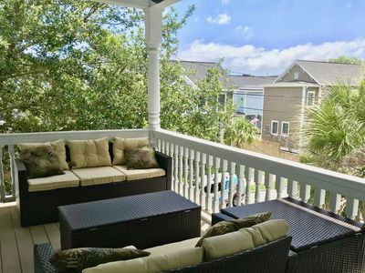 Photo for Urban Retreat with Private Balcony, Open Kitchen and Hardwood Floors.  30 Days Minimum Rental!