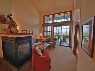 Photo for Stellar ski condo in Granby Ranch with stunning views from covered porch