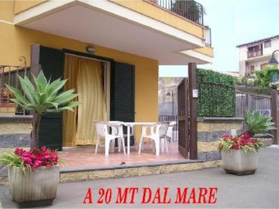 Photo for HOLIDAY HOUSE NEAR SEA (about 20 meters), 15 km from Taormina, and a few minutes from Etna.