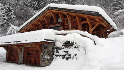 Photo for Private Chalet Chamonix 6pers with Hotel Services and access to the Spa Ô des Cimes