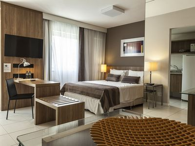 Photo for ApartHotel Riocentro Jeunesse Arena Riocentro furnished beautiful!