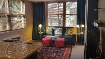 Photo for Sunny Downtown Extended Stay  Portland Condo: Dining,Shopping,Museums