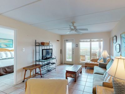 Photo for Waterfront condo w/ shared hot tub, tennis court, and pool!