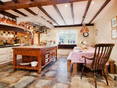 Photo for Vacation home Hutchinghayes Farmhouse in Honiton - 10 persons, 4 bedrooms