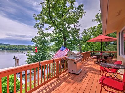 Photo for Camdenton House on Lake of the Ozarks w/ Dock!