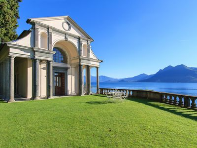 Photo for Unique holiday villa in Pallanza on the shores of Lake Maggiore