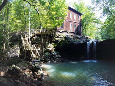 Photo for Waterfall Wilderness Retreat Bordering the Ozark National Forest