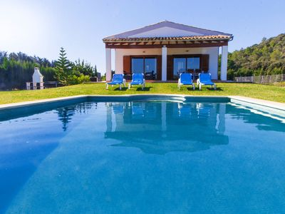 Photo for With private pool and large garden - Villa Can Biel