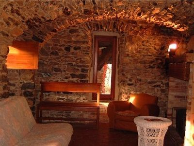 Photo for Typical 17th-Century Cevenol farmhouse at the heart of nature, outstanding view