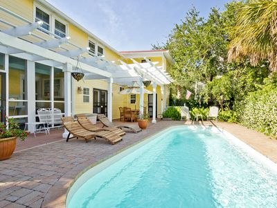 Photo for Beautiful 4 Bedroom Historic Cottage with Private Pool on South End of Tybee Island