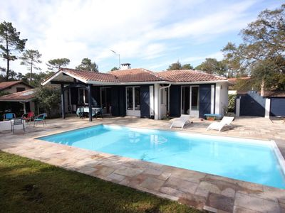 Photo for CHARMING VILLA WITH HEATED SWIMMING POOL, NEAR THE OCEAN AND LAKE HOSSEGOR
