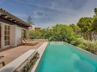 Photo for Villa with sea views and pool for 6 people in Font de sa Cala