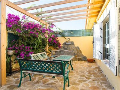 Photo for Villa Corazon apartment in Corralejo with WiFi, private terrace & private garden.