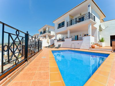 Photo for Air-Conditioned Villa Close to Beach with Pool, Terrace, Sea View & Wi-Fi