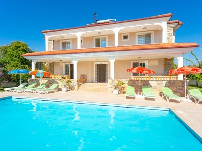 Photo for Villa Kubra: Large Private Pool, A/C, WiFi, Car Not Required