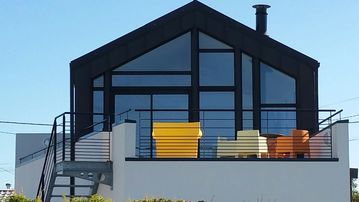 Architect house built in 2014, 50 m from the sea.