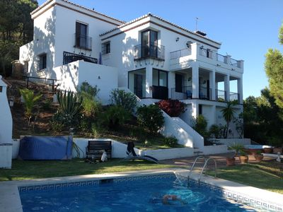Photo for Experience a memorable holiday in a private villa with pool and views to die for