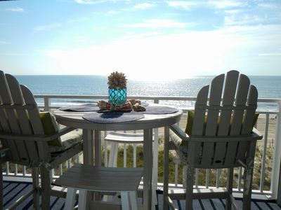 Photo for Oceanfront 2 bedroom with great location on 50th St