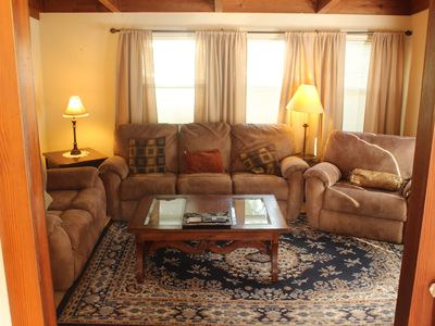 Photo for Romantic or family Getaway on the  Russian River; Dog Friendly