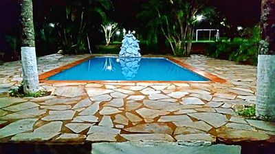 Photo for Farm with 5 rooms in the countryside and pool in Goiânia 10 km from the center