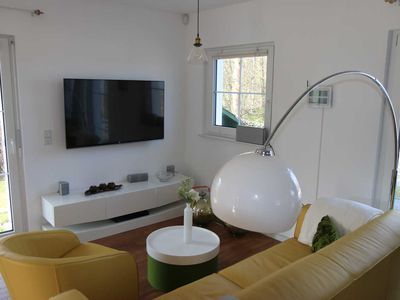 Photo for Modern holiday home near the lake - Ferienhaus am Fleesensee