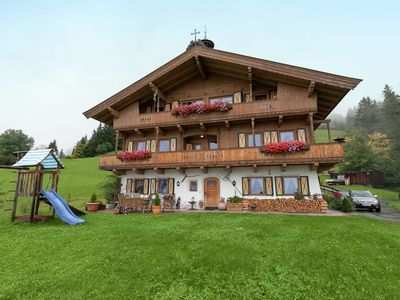 Photo for Fantastic spacious and luxurious chalet on the Sonnberg in Kichberg in Tyrol.