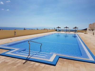 Photo for Casa Galicia with stunning sea views, south-faced terrace, pool, Wifi,dishwasher