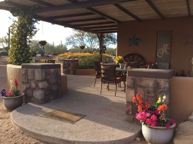 Your own private outdoor patio