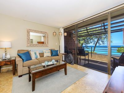Photo for Kuleana 713 - OCEAN FRONT One Bedroom Condo with Secluded Beach!