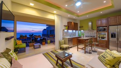 Photo for V177 Ocean View  Condo Luxury Living in the Heart of Romantic Zone!