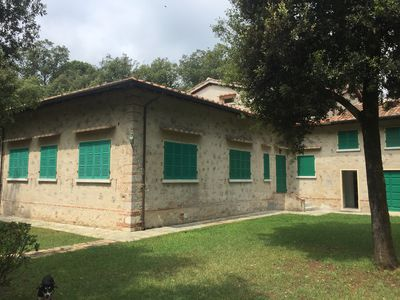 Photo for Villa with large garden, Imperial Rome, 40s to 500 mts from the sea