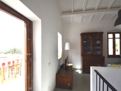 Photo for Modern renovated cottage with panoramic terrace, near the sea and mountains