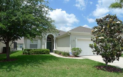 Photo for Gated Community! Comfortable 4 bed, 3 bath villa with private pool