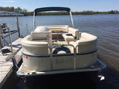 Pontoon can be rented for $450 w/ a 2 day consecutive minimum, then $150 a day