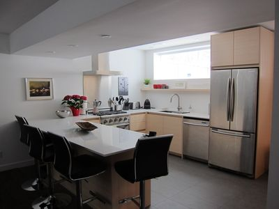 Photo for Beautifully Furnished 2 Bedroom Suite In Town - easy walk to hospital!