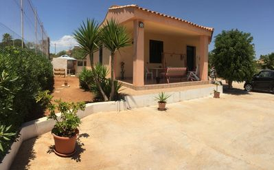 Photo for Villa Angioletta, a few meters from the beach in Lido di Noto