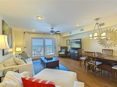 Photo for Completely Renovated Beachfront Luxury! Quiet West End of PCB! Private Boardwalk