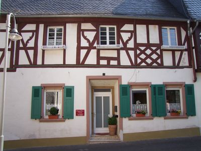 Photo for Mosel Valley - historic timbered house - Wifi - Familyfriendly - near Bernkastel